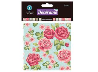 Pack Adhesivos Vinil Roses Decórame 15 x 15 x 15 cm,,hi-res