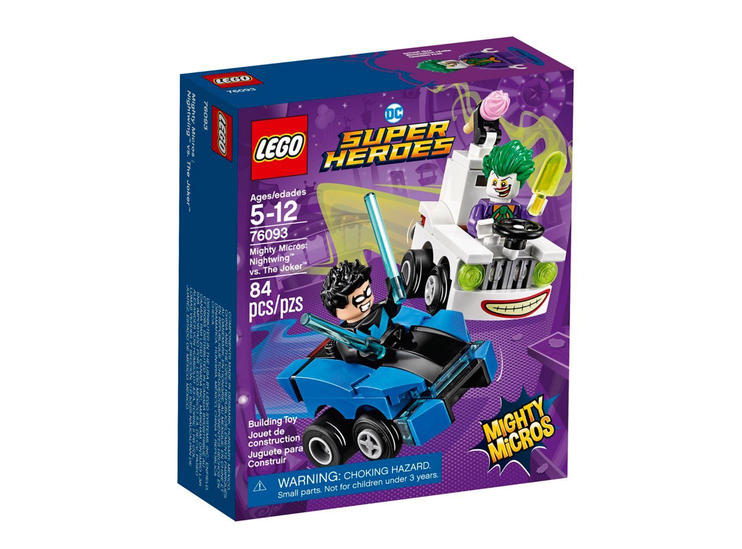 Juego Mighty Micros Nightwing Vs The Joker Lego Lego Y Armables Paris Cl