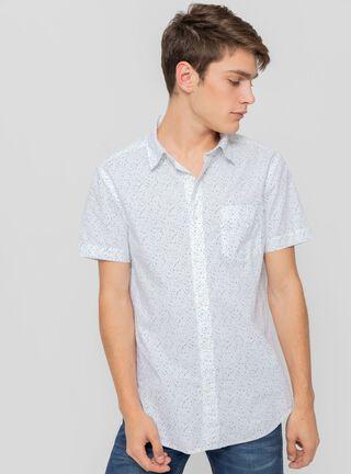 Camisa Jhon White Wrangler,Blanco,hi-res