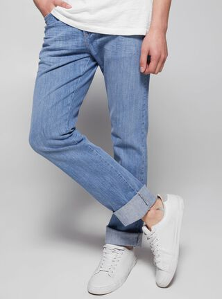 Jeans Slim Fit Focalizado Wrangler,Único Color,hi-res