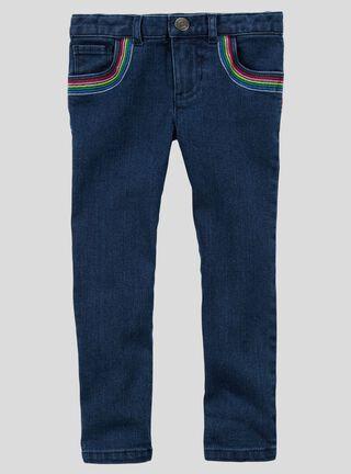 Pantalón Niña 2 A 5 Años Carter's,Azul,hi-res
