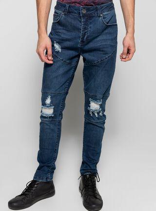 Jeans Skinny Destroyred JJO,Azul Eléctrico,hi-res