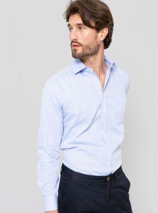 Camisa Formal Slim Arrow,Celeste,hi-res