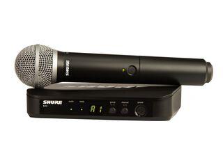 Micrófono Shure BLX24/PG58 XLR Negro,,hi-res