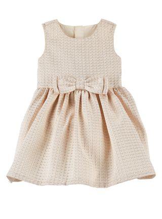 Vestido Niña 0 A 24 Meses Carter's,Crema,hi-res