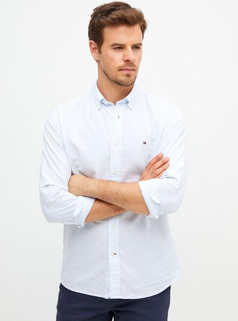 Camisa%20Oxford%20B%C3%A1sico%20Regular%20Fit%20Tommy%20Hilfiger%2CCeleste%2Chi-res