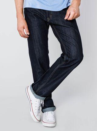 Jeans Denim Modelo 505 Levi's,Azul Oscuro,hi-res