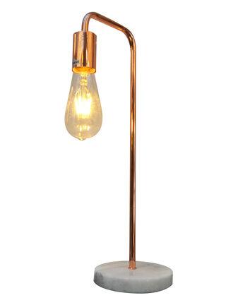 Lámpara de Mesa Home Republic Metal 1 Luz Cobre 45 cm,,hi-res