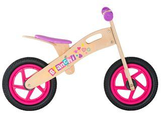 Bicicleta Madera Bianchi Wooden Niña Aro 12 Hasta 90 cm,Rosado,hi-res