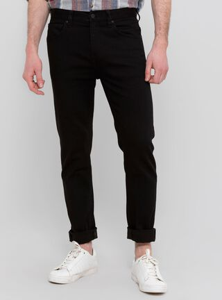 Jeans Básico Lee,Negro Mate,hi-res