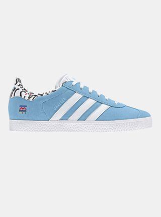 Zapatilla Adidas Gazelle Urbana Niño,Azul,hi-res