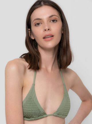 Sostén Bikini Clásico Umbrale,Verde Militar,hi-res