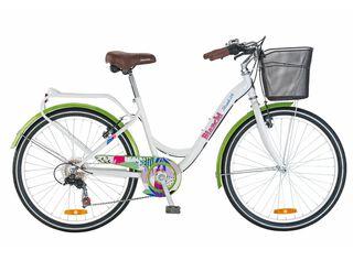 Bicicleta de Paseo Bianchi Street Aro 24,Blanco,hi-res