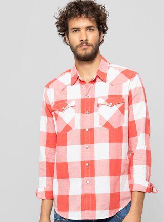 Camisa Classic Western Levi's,Rojo,hi-res