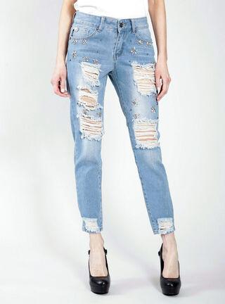 Jeans Destroyed Ellus,Celeste,hi-res