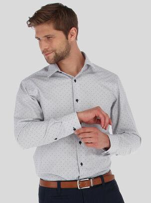 ac9831efa0 Camisa Textura Slim Cuello Total Italian Van Heusen
