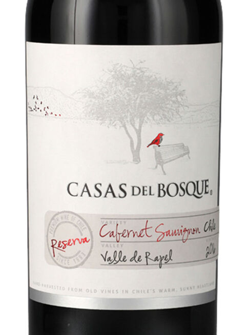 Pack 12 Casas Del Bosque Reserva Cabernet Sauvignon La Vinoteca Vinos Y Espumantes Paris Cl
