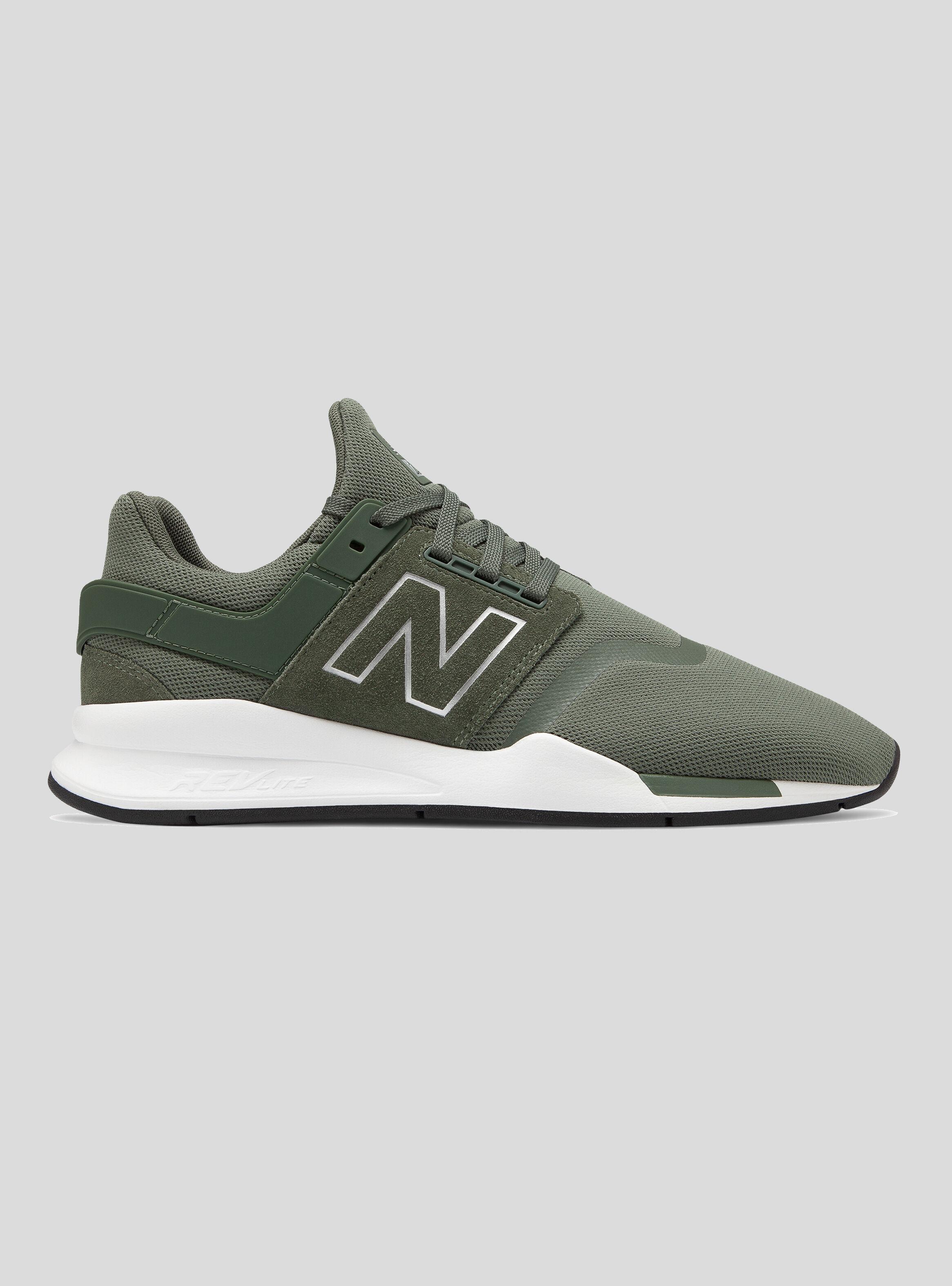 new balance zapatillas hombre verdes