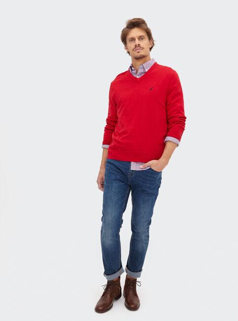 Sweater%20S%C3%B3lido%20Cuello%20V%20Nautica%2CGranate%2Chi-res