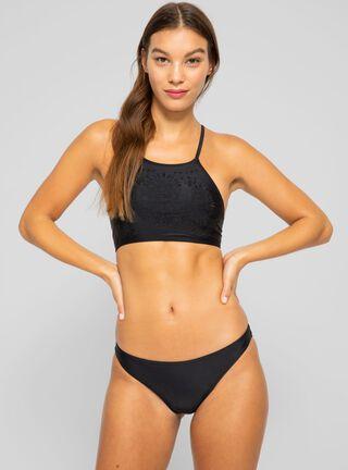 Calzón Bikini Bordado Umbrale,Negro,hi-res