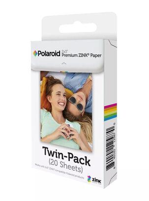b9d6032cf4348 Papel Zink Polaroid 20 Unidades