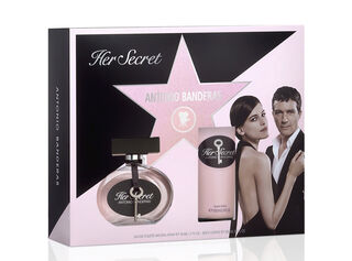Set Perfume Antonio Banderas Secret EDT 50 ml + Body Lotion 100 ml,,hi-res