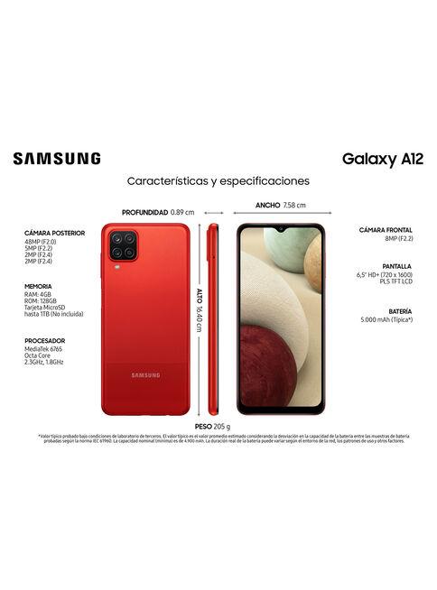Samsung%20Galaxy%20A12%20128GB%20Rojo%20Liberado%2C%2Chi-res