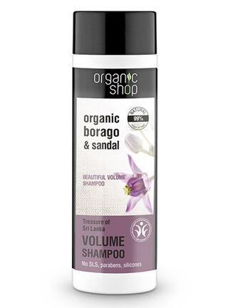 Shampoo Volumen Sandalo 280 ml Organic Shop,,hi-res