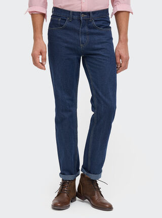 Jeans Full Recto Essential Rainforest,Azul,hi-res