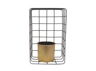Porta Planta Pared Rectangular Rejilla 20.5 x 13.2 x 30.8 cm Alaniz Home,,hi-res
