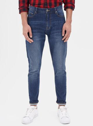 Jeans Skinny Focalizado Opposite,Azul,hi-res