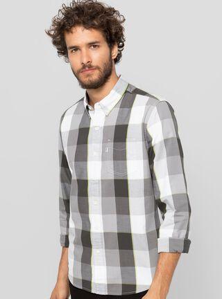 Camisa Manga Larga Dómino Levi's,Gris,hi-res