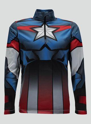 Polerón Spyder Marvel Limitless T-Neck Niño,Azul,hi-res