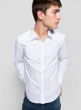 Camisa Básica Lisa Ellus,Blanco,hi-res