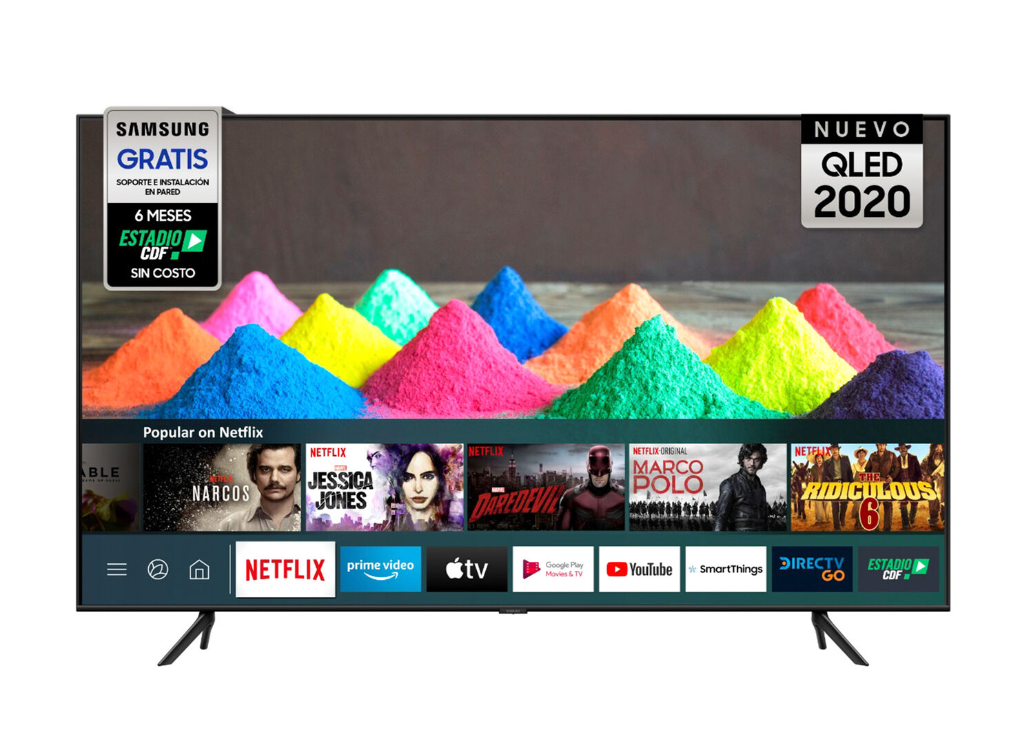 QLED Smart TV Samsung 65