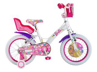 Bicicleta Bianchi Barbie 16 Hasta 120 cm,Blanco,hi-res