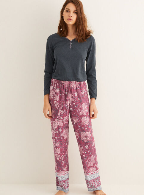 Pantal%C3%B3n%20Pijama%20Mix%26Match%201%20Pink%20Regular%20Women'Secret%2CBurdeo%2Chi-res