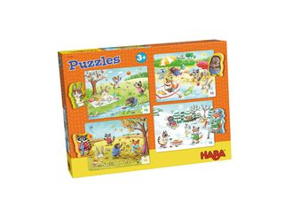 Puzzle Estaciones 15 Piezas c/u Haba,,hi-res