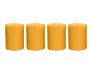 Pack x 4 Vela Votiva Nectarine The Candle Shop,,hi-res