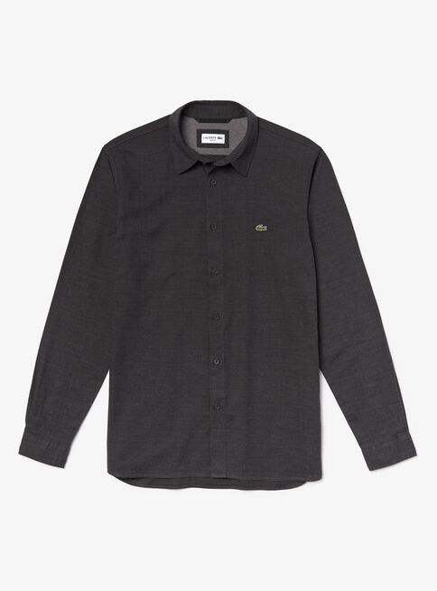 Camisa%20Algod%C3%B3n%20Manga%20Larga%20Lacoste%2CGris%2Chi-res