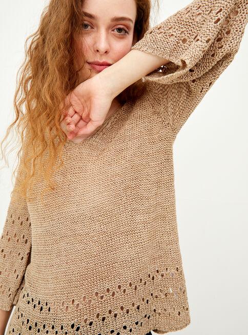 Sweater%20Cinta%20con%20Textura%20Greenfield%20%2CBeige%2Chi-res