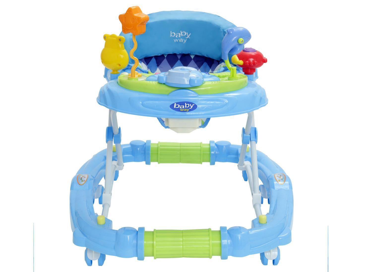 Andador En Balancín Azul Bw 916b18 AndadoresParis Baby Way Jc3TFlK1
