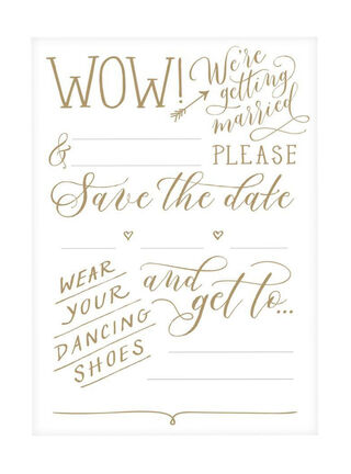 Tarjetas Save the Date Galison 14 x 19 x 2 cm,,hi-res