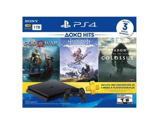 Consola PS4 1TB + 3 Juegos,,hi-res