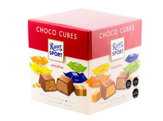 Caja Chocolates Mini-Cubes 176 gr Ritter,,hi-res