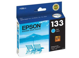 Tinta Epson 133 Cyan,,hi-res