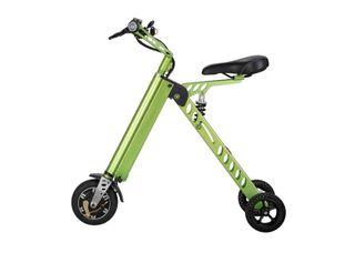Bicicleta Eléctrica Lhotse E-Bike Plegable Aro 8 Verde,,hi-res