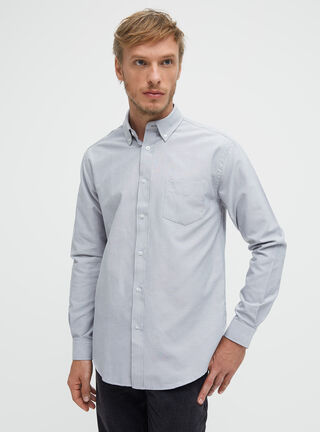 Camisa Oxford Essential Rainforest,Ceniza,hi-res