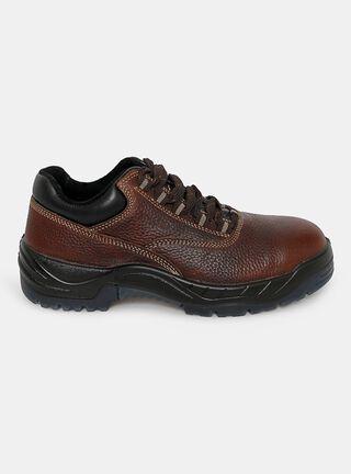 Zapato de Seguridad Nazca Pucará Hombre,Café,hi-res