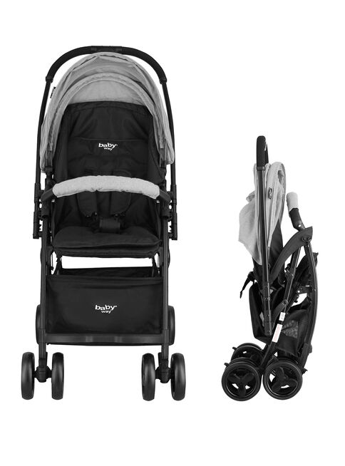 Coche%20Paseo%20Ultra%20Light%20Baby%20Way%20Bw-208G19%20Gris%2C%2Chi-res
